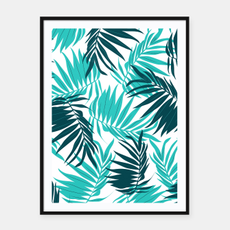 Thumbnail image of Tropical Forever Framed poster, Live Heroes