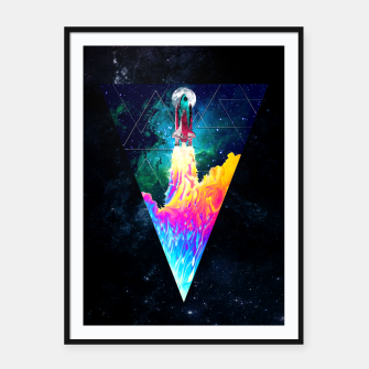 TAKE OFF V2 Framed poster thumbnail image