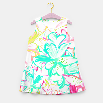 Thumbnail image of Philocaly Girl's Summer Dress, Live Heroes