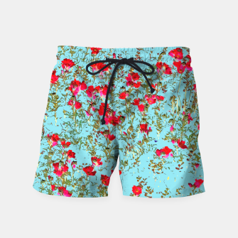 Thumbnail image of Not Enough Flowers Swim Shorts, Live Heroes