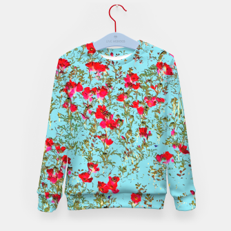 Thumbnail image of Not Enough Flowers Kid's Sweater, Live Heroes
