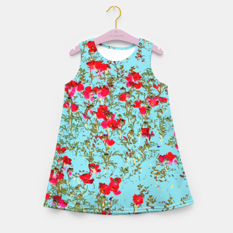 Thumbnail image of Not Enough Flowers Girl's Summer Dress, Live Heroes