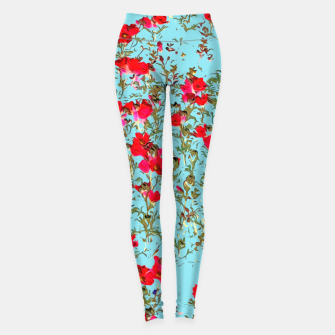 Thumbnail image of Not Enough Flowers Leggings, Live Heroes