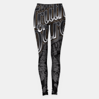 Thumbnail image of Truth Or Dare Leggings, Live Heroes