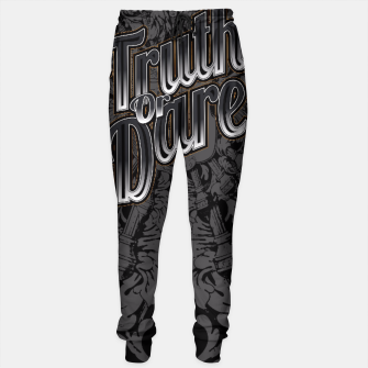 Thumbnail image of Truth Or Dare Sweatpants, Live Heroes