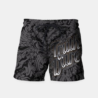 Thumbnail image of Truth Or Dare Swim Shorts, Live Heroes