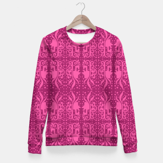 Thumbnail image of Gothic Art Fitted Waist Sweater, Live Heroes