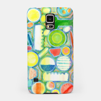 Miniatur Picturesque Shapes Pattern with a Scissors  Samsung Case, Live Heroes