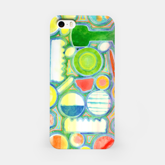 Miniatur Picturesque Shapes Pattern with a Scissors  iPhone Case, Live Heroes