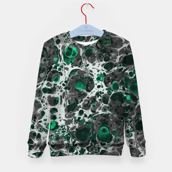 Thumbnail image of marble Kid's Sweater, Live Heroes