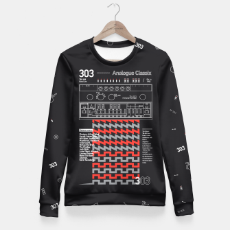 Thumbnail image of 303 Fitted Waist Sweater, Live Heroes