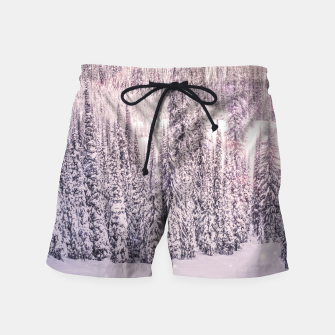 Thumbnail image of Winter Was Harsh Swim Shorts, Live Heroes