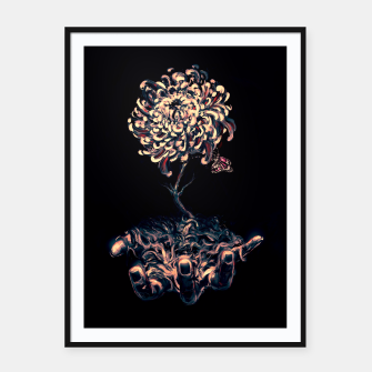 Thumbnail image of Symbiosis Framed poster, Live Heroes