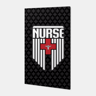 Nurse Shield Canvas thumbnail image
