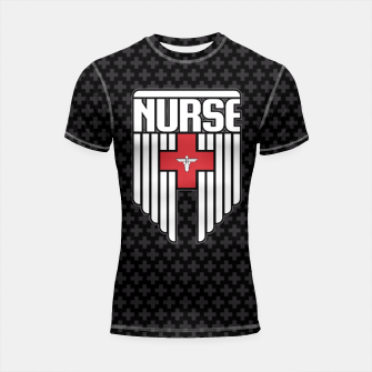 Nurse Shield Shortsleeve Rashguard thumbnail image