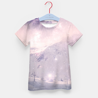 Thumbnail image of Misty Mountains Kid's T-shirt, Live Heroes