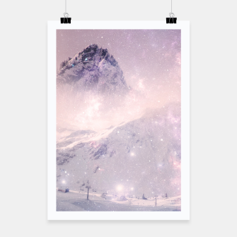 Thumbnail image of Misty Mountains Poster, Live Heroes