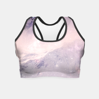 Thumbnail image of Misty Mountains Crop Top, Live Heroes