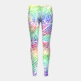 Thumbnail image of heartz Girl's Leggings, Live Heroes
