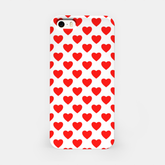 Thumbnail image of Hearts pattern iPhone Case, Live Heroes