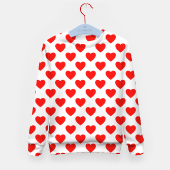 Thumbnail image of Hearts pattern Kid's Sweater, Live Heroes