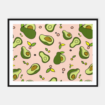 Thumbnail image of Avocados Framed poster, Live Heroes