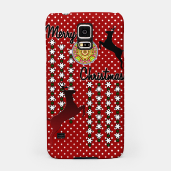 Thumbnail image of Merry Christmas Snow Deer Samsung Case, Live Heroes