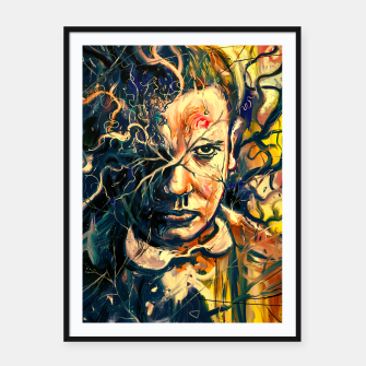 Thumbnail image of Eleven Framed poster, Live Heroes