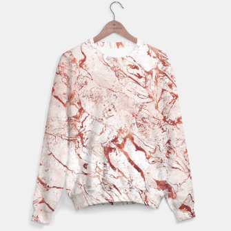 Thumbnail image of RoseGold Marble Sweater, Live Heroes