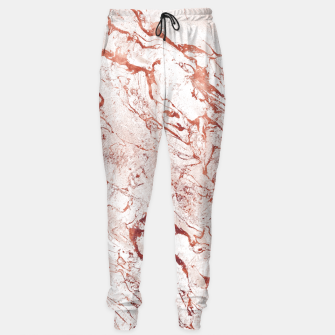 Thumbnail image of RoseGold Marble Sweatpants, Live Heroes