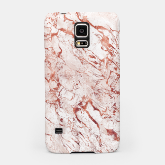 Thumbnail image of RoseGold Marble Samsung Case, Live Heroes