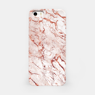 Thumbnail image of RoseGold Marble iPhone Case, Live Heroes