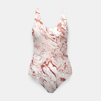 Thumbnail image of RoseGold Marble Swimsuit, Live Heroes