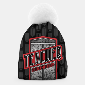 Teacher Shield Beanie thumbnail image