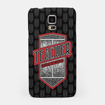 Thumbnail image of Teacher Shield Samsung Case, Live Heroes