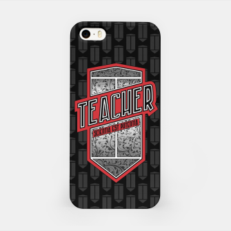 Thumbnail image of Teacher Shield iPhone Case, Live Heroes