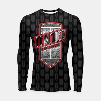 Teacher Shield Longsleeve Rashguard  thumbnail image