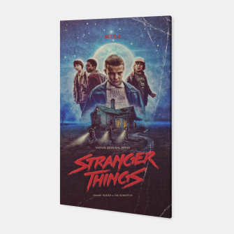 Stranger Things by The Sonnyfive Canvas thumbnail image