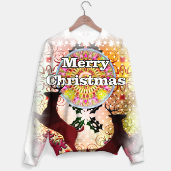 Thumbnail image of Ugly Sweater Reindeer Snowfall Sweater, Live Heroes