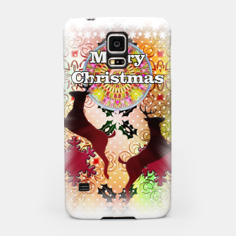 Thumbnail image of Ugly Sweater Reindeer Snowfall Samsung Case, Live Heroes