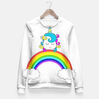 Thumbnail image of Ma licorne Pull ajusté, Live Heroes