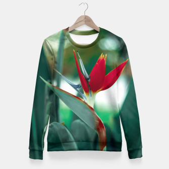 Thumbnail image of Vermelho Fitted Waist Sweater, Live Heroes