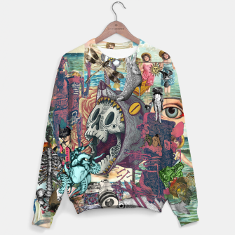 Thumbnail image of Collage XLIV Sweater, Live Heroes