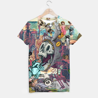 Thumbnail image of Collage XLIV T-shirt, Live Heroes