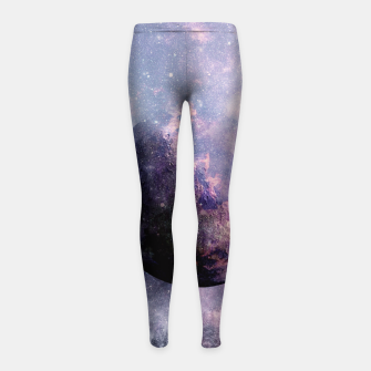 Thumbnail image of Never Give Up Girl's Leggings, Live Heroes