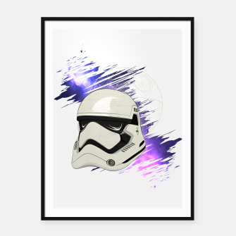 Thumbnail image of Star Wars Trooper Cartel con marco, Live Heroes