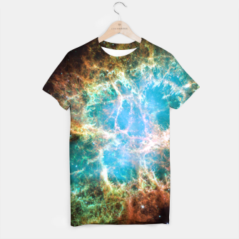 Thumbnail image of Crab Nebula Outer Space Tee Shirt, Live Heroes