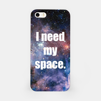 Thumbnail image of I Need My Space Galaxy Iphone Case, Live Heroes