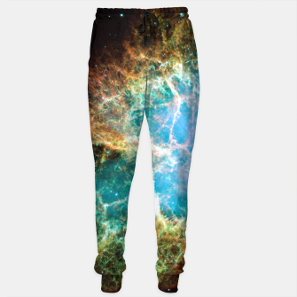 Thumbnail image of Crab Nebula Outer Space Sweatpants Joggers, Live Heroes