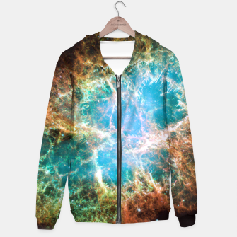 Thumbnail image of Crab Nebula Outer Space Hoodie, Live Heroes